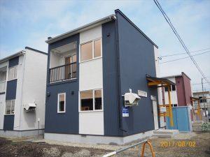 忠類戸建アパート新築工事(8棟)