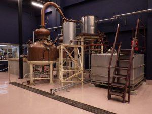 ワイン城ブランデー蒸留室改修工事